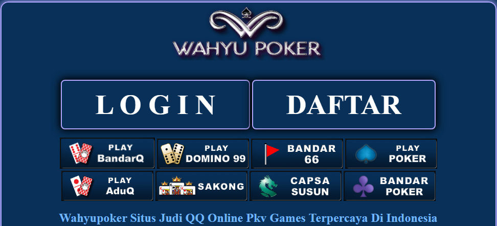 Bermain Poker di Internet